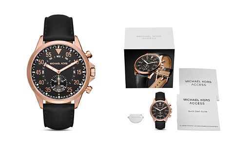 Michael Kors Access Gage Rose Gold-Tone Hybrid Smartwatch, 45mm - Bloomingdale's_2