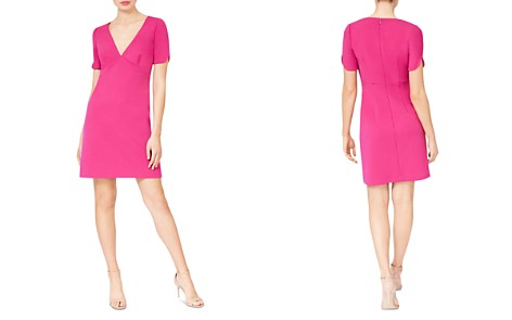 Betsey Johnson Short-Sleeve Scuba Crepe Dress - Bloomingdale's_2