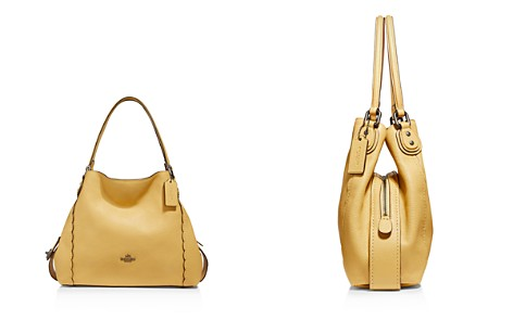 COACH Scalloped Edie 31 Polished Pebble Leather Shoulder Bag - Bloomingdale's_2