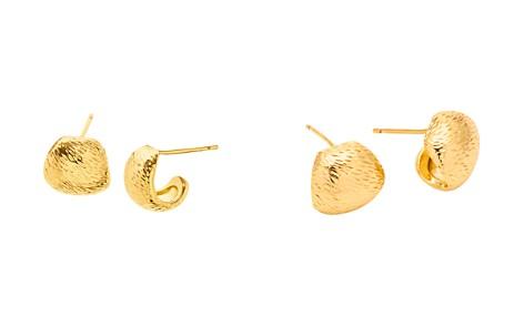 Gorjana Rae Textured Huggie Hoop Earrings - Bloomingdale's_2