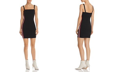 Sunset + Spring Track Stripe Body-Con Dress - 100% Exclusive - Bloomingdale's_2