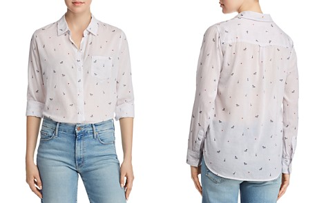 Rails Taylor Eiffel Tower Print Shirt - Bloomingdale's_2