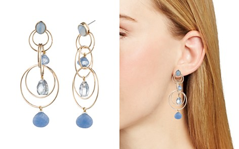 AQUA Floating Stone Link Chandelier Earrings - 100% Exclusive - Bloomingdale's_2