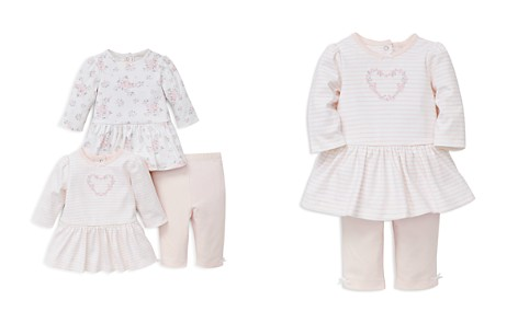 Little Me Girls' Rose-Print Dresses & Leggings Set - Baby - Bloomingdale's_2