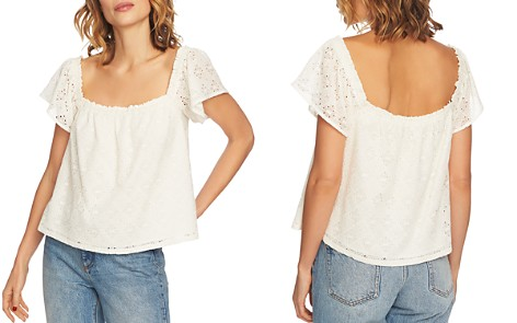 1.STATE Square-Neck Eyelet Top - Bloomingdale's_2