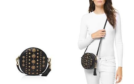 MICHAEL Michael Kors Medium Studded Leather Canteen Crossbody - Bloomingdale's_2