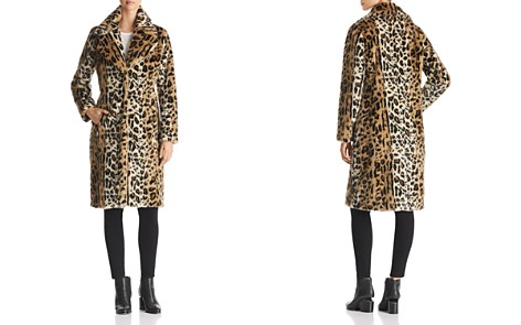 KENDALL and KYLIE Leopard Print Faux Fur Coat - Bloomingdale's_2