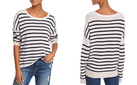 ATM Anthony Thomas Melillo Striped Cashmere Sweater - Bloomingdale's_2