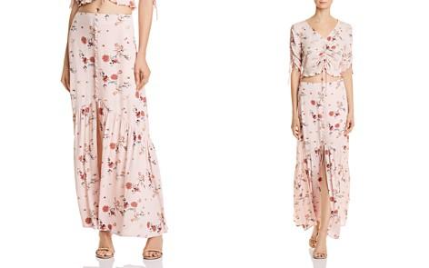 Lost + Wander Rosa Floral Print Maxi Skirt - Bloomingdale's_2