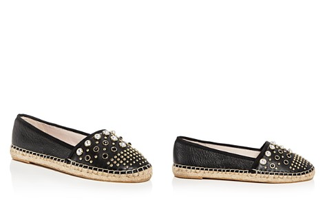 Kenneth Cole Women's Brigid Studded Leather Espadrille Flats - Bloomingdale's_2