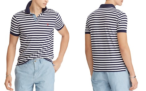 Polo Ralph Lauren Polo Striped Jersey Classic Fit Polo Shirt - Bloomingdale's_2