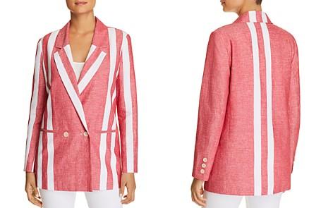 Badgley Mischka Striped Blazer - Bloomingdale's_2