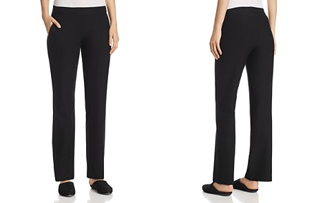 Eileen Fisher Straight Pull-On Pants - Bloomingdale's_2