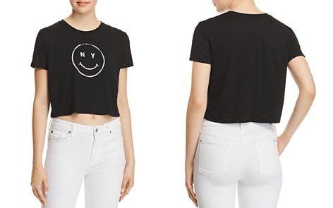 Knowlita NY Smiley Cropped Tee - 100% Exclusive - Bloomingdale's_2