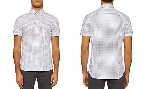 Ted Baker Foresth Geo Regular Fit Button-Down Shirt - Bloomingdale's_2