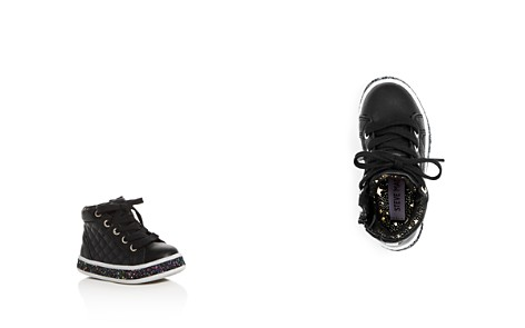 Steve Madden Girls' Quilted High Top Platform Sneakers - Toddler - Bloomingdale's_2
