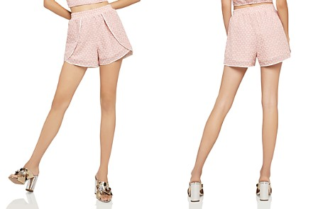 BCBGeneration Daisy Eyelet Shorts - 100% Exclusive - Bloomingdale's_2