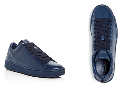 COACH Men's C101 Leather Lace Up Sneakers - Bloomingdale's_2