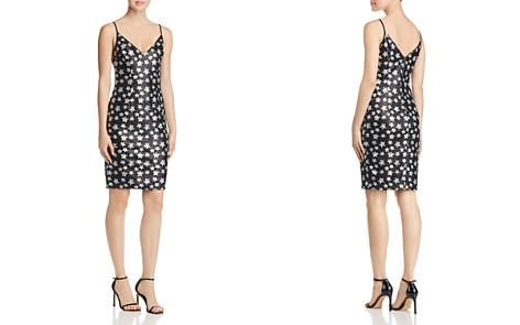 Black Halo Amorie Sequined Star Dress - Bloomingdale's_2