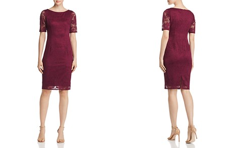 Adrianna Papell Rosa Lace Dress - Bloomingdale's_2