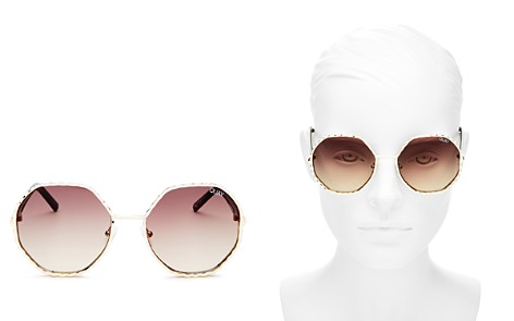 Quay Women's Breeze In Round Sunglasses, 55mm - Bloomingdale's_2