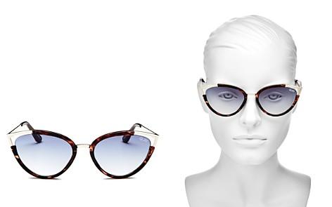 Quay Women's Hearsay Cat Eye Sunglasses, 58mm - Bloomingdale's_2