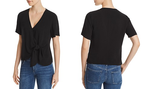 Re:Named Margot Knot-Front Wrap Top - Bloomingdale's_2