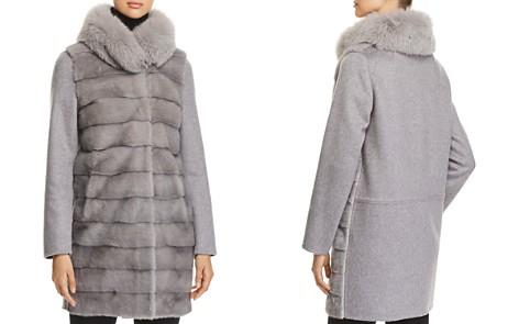 Herno Fur & Cashmere Coat - Bloomingdale's_2