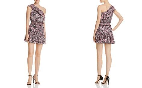 Karina Grimaldi Josue Ruffled One-Shoulder Floral Dress - Bloomingdale's_2