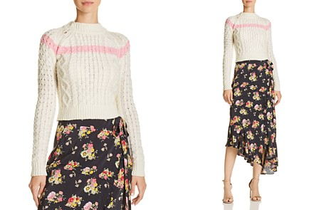 Preen Line Cropped Cable Sweater - Bloomingdale's_2