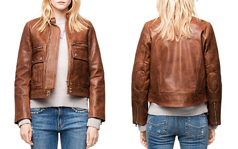 Zadig & Voltaire Love Leather Aviator Jacket - Bloomingdale's_2