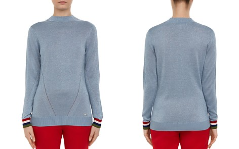 Ted Baker Colour By Numbers Alexxaa Metallic Sweater - Bloomingdale's_2