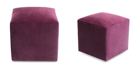 Bloomingdale's Artisan Collection Jax Velvet Cube _2