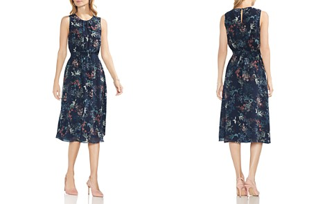 VINCE CAMUTO Sleeveless Garden Floral Dress - Bloomingdale's_2