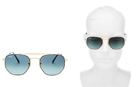 Ray-Ban Unisex Marshal Hexagonal Sunglasses, 54mm - Bloomingdale's_2