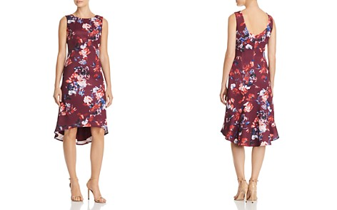 Adrianna Papell Floral Scuba Dress - Bloomingdale's_2