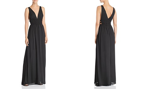 WAYF Surrey Plunging Cutout Gown - Bloomingdale's_2