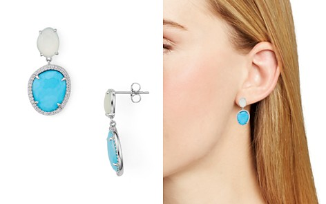 Nadri Isola Chalcedony with Reconstituted Turquoise Doublet Drop Earrings - Bloomingdale's_2
