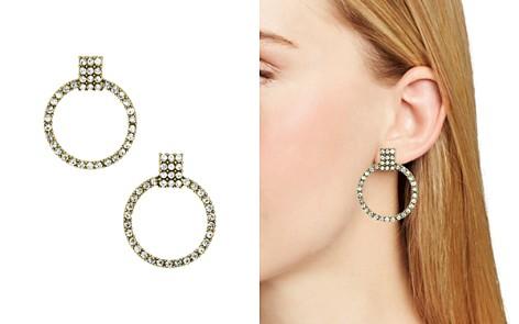 BAUBLEBAR Gemma Pavé Loop Drop Earrings - Bloomingdale's_2