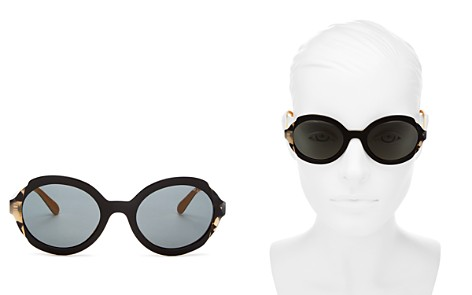 Prada Women's Etiquette Round Sunglasses, 53mm - Bloomingdale's_2