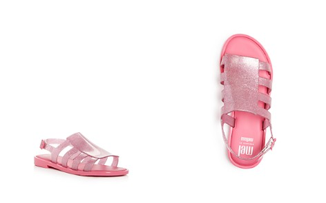 Mini Melissa Girls' Mel Boemia Glitter Slingback Sandals - Toddler, Little Kid - Bloomingdale's_2