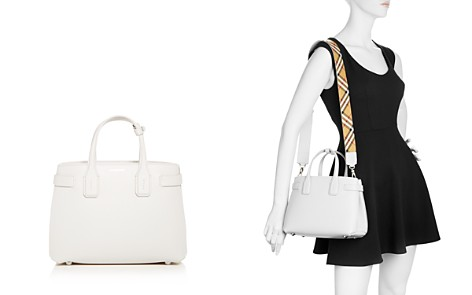 Burberry Leather Small Banner Bag - Bloomingdale's_2