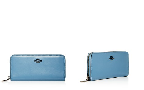 COACH Slim Continental Leather Zip Wallet - Bloomingdale's_2