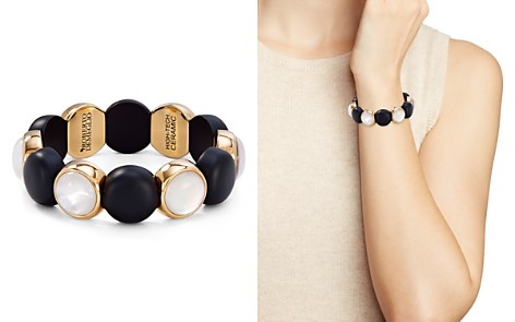 Roberto Demeglio Aura Large Two-Tone Stretch Bracelet - Bloomingdale's_2