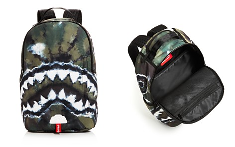 Sprayground Unisex Camo Tie-Dye Shark Backpack - Bloomingdale's_2