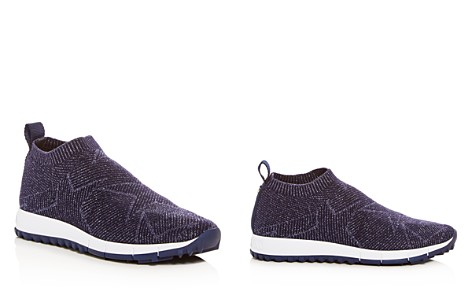 Jimmy Choo Women's Norway Glitter Knit Slip-On Sneakers - Bloomingdale's_2