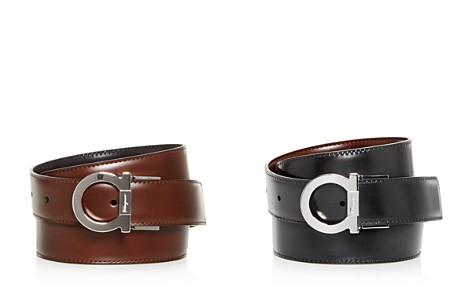 Salvatore Ferragamo Gancini Reversible Leather Belt - Bloomingdale's_2
