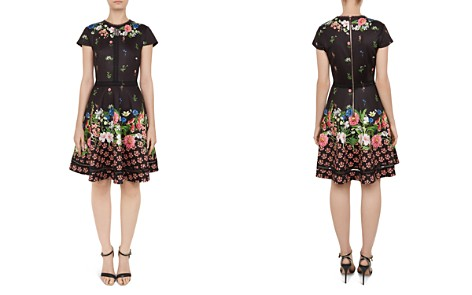 Ted Baker Daissie Lace-Trimmed Floral Dress - Bloomingdale's_2