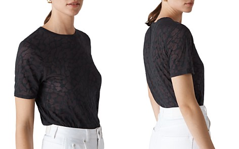 Whistles Animal Burnout Tee - Bloomingdale's_2