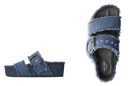rag & bone Women's Evin Open-Toe Denim Platform Sandals - Bloomingdale's_2